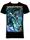 Officially Licensed Megadeth Vic Canister Men's Black T-Shirt