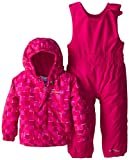Columbia Baby-Girls Infant Fresh Pow Set, Groovy Pink, 18-24 Months