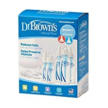 buy Dr. Browns Bpa Natural Flow Bottle Newborn Feeding Set (Packaging May Vary) - 2 Sets By Dr. Brown'S