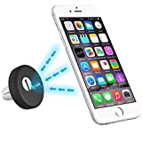1byone Universal Air Vent Powerful Magnetic Car Mount Holder for iPhone 6s, 6s Plus, 6, 6 Plus, 5s, 5, 4s, Samsung Galaxy, Mini Tablets, MP3 And Other Devices, Black