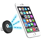 1byone® New Release - Universal Car Air Vent Powerful Magnetic Mount Holder (Black) for iphone 6,5s,5,4s,Samsung Galaxy, Mini Tablets, MP3 And Other Devices