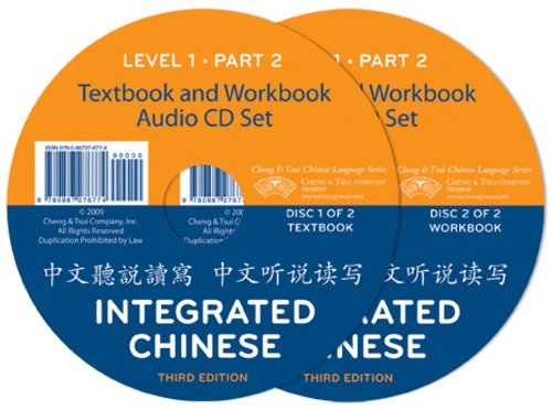Integrated Chinese: Level 1, Part 2 Audio CDs (3rd...