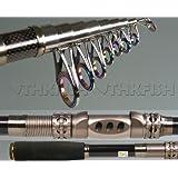 Top Grade! THKFISH Telescopic Fishing Rod Retractable Fishing Pole Rod Free Shipping Rod Brand name:THKFISH
