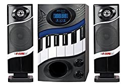 5 Core Hi-Fi Multimedia Speaker system as Piano HT-2115 Home Theater System,Compatible with different devices such as Cellphone/PC,Laptop, CD player, DVD player, Mp3 player Home Audio Speaker with LED Display
