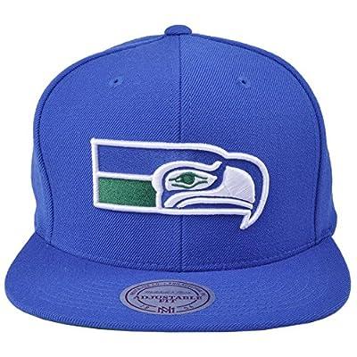 Mitchell & Ness Men's Seattle Seahawks Wool Snapback