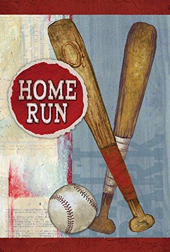 Toland Home Garden Home Run 12 5 X 18 Inch Decorative Usa