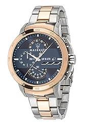 Maserati Time R8873619002 Ingegno Analogue Blue dial watch for Men,Boys
