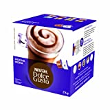 Nescafé Dolce Gusto for Nescafé Dolce Gusto Brewers, Mocha, 16 Count (Pack of 3)