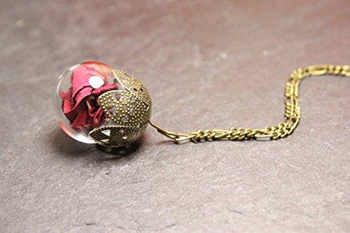 rosenblatter-kette-rose-borosilikatglas-echte-blutenblatter