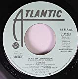 Genesis 45 RPM Land Of Confusion / Land Of Confusion