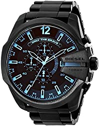 Diesel Diesel Chi Chronograph Black Dial Mens Watch-DZ4318