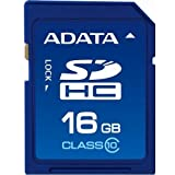 A-Data 16 GB Class 10 SDHC Flash Memory Card 16GSDHC10 (Blue) ~ ADATA