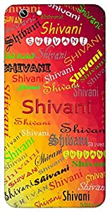 Shivani (Goddess Parvathi) Name & Sign Printed All over customize & Personalized!! Protective back cover for your Smart Phone : Apple iPhone 5/5S