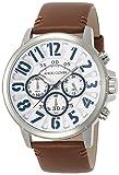 [エンジェルクローバー]Angel Clover 腕時計 Bump ホワイト文字盤 クロノグラフ BU44SWHBR メンズ