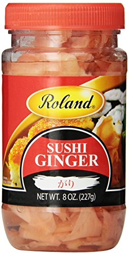 Roland Sushi Ginger, 8 Ounce (Pack of 8)