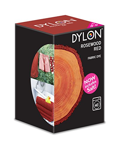 dylon-rosewood-red-machine-dye-350g-includes-salt