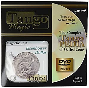 MMS Magnetic Coin (Dollar with DVD)D0024 by Tango - Trick