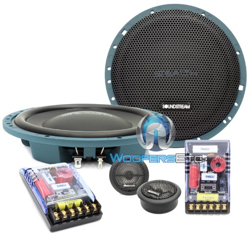 Soundstream Stl6.5 Tarantula High Performance Thin Component Set