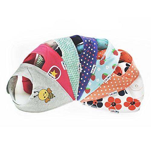lovjoy bandana geifer baby l ssig sommer l tzchen 7er pack multicolor lovjoy. Black Bedroom Furniture Sets. Home Design Ideas