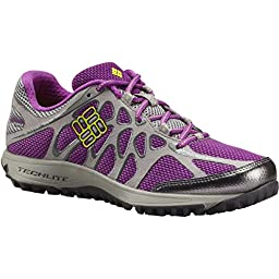 Columbia Women\'s Conspiracy Titanium Trail Outdoor Sneakers, Purple Mesh, 6 M