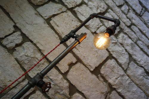 Edison Bulb Floor Lamp - Industrial Style Floor Lamp 3