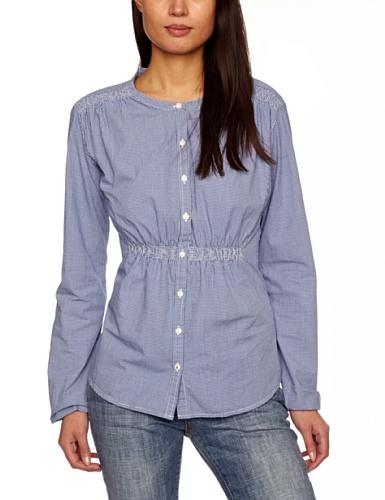 Levi's® Smocked Blouse Long Sleeve Women's Shirt