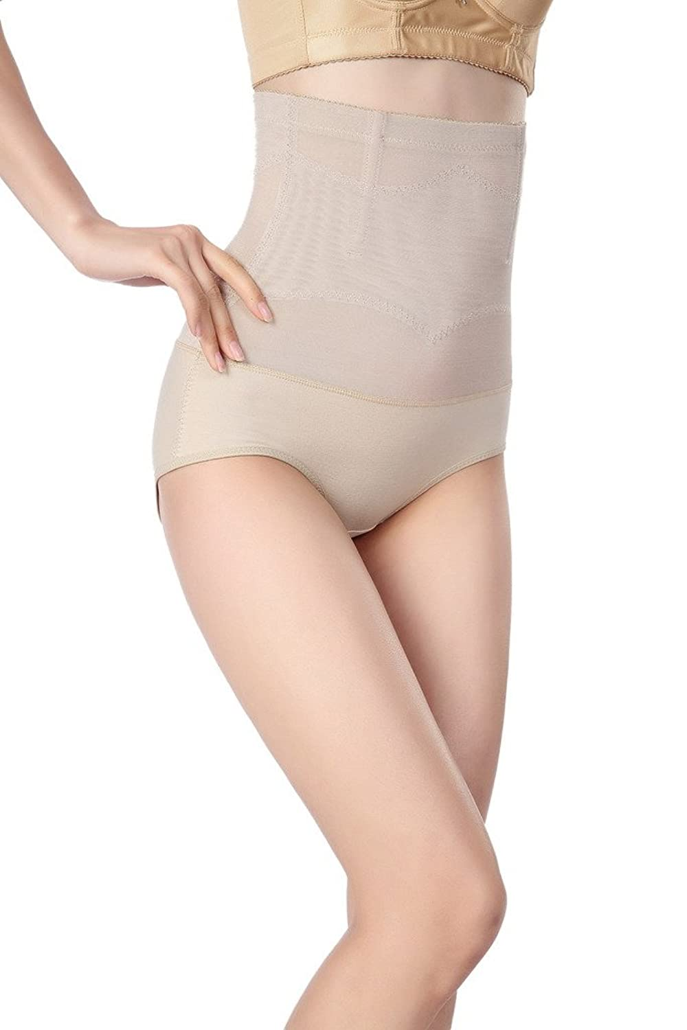 Bigood Bodyshaper Figurenformend Damen Figur-Body Taillenslip Miederpants Body