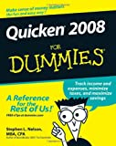 Quicken 2008 For Dummies (For Dummies (Computer/Tech)) (0470174730) by Nelson, Stephen L.