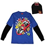 Angry Birds T-shirt and Matching Beanie Set 14/16
