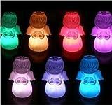 お部屋のムードが一変 LED イルミネーション ライト 3個 セット (エンジェル)