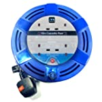 Masterplug MCT1010/4BL-MP 10m 4 Socke...