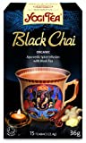 Yogi Tea Black Chai 15 Organic Teabags (Pack of 8, Total 120 Teabags)