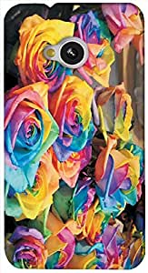 Timpax protective Armor Hard Bumper Back Case Cover. Multicolor printed on 3 Dimensional case with latest & finest graphic design art. Compatible with HTC M7 Design No : TDZ-21596