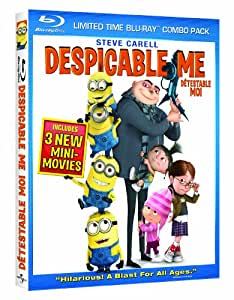 Despicable Me (Limited Time Blu-Ray Combo)