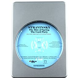 Stravinsky: The Rite of Spring, The Card Party - 7.1 DTS-HD 3D Sound Blu-ray Audio Signature Series