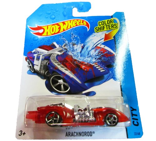 Hot Wheels - 2014 Color Shifters - City 22/48 - Arachnorod (blue/red)