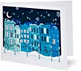 Amazon Gift Card - Print - Snowy Cityscape