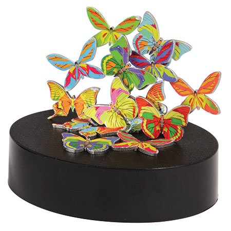 Magnetic Sculpture Butterflies Toy - 1