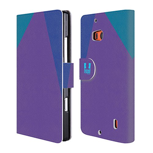 Official One Direction 1D Feminine Colour Blocking Leather Book Wallet Case Cover for Nokia Lumia Icon / 929 / 930