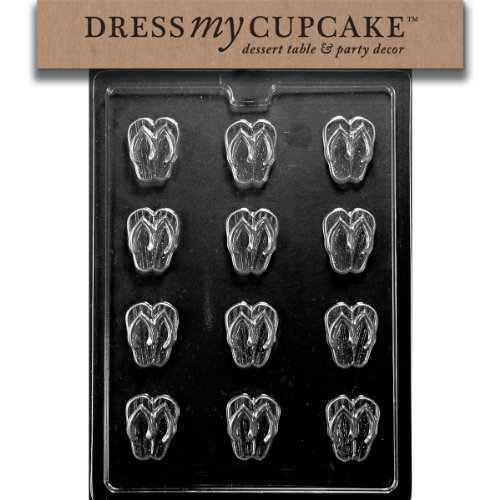 Dress My Cupcake Chocolate Candy Mold, Flip Flops discount price 2016
