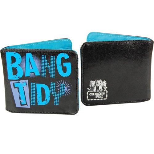 Celebrity Juice-Portafoglio, motivo: Bang Tidy!