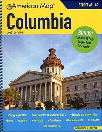 American Map Columbia, Sc Atlas