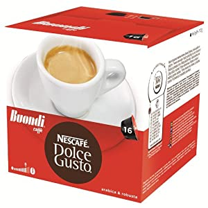 Order Nescafé Dolce Gusto Espresso Buondi, 16 Capsules from Nestl