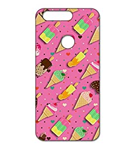 Happoz Huawei Honor 8 Cases Back Cover Mobile Pouches Patterns Floral Flowers Armour Fancy Slim Graffiti Imported Cute Colurful Stylish Boys Premium Printed Designer Cartoon Girl 3D Funky Shell Hard Plastic Graphic D027