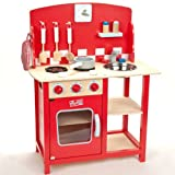 Beautiful Children's Kitchenette Diner Wooden Cookerby Indigo Jamm