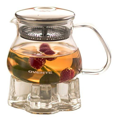 Ovente Fgb17T Teapot With Warmer 17Oz