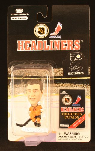 ERIC LINDROS / PHILADELPHIA FLYERS * 3 INCH * 1997 NHL Headliners Hockey Collector Figure