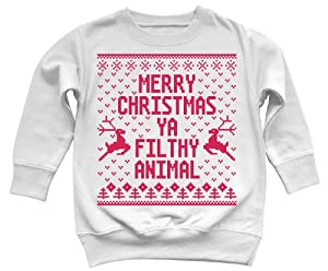 Merry Xmas Filthy Animal Ugly Sweater from Chistmas Teez