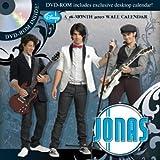 Jonas Brothers -- Jonas 2010 DVD-ROM Wall Calendar