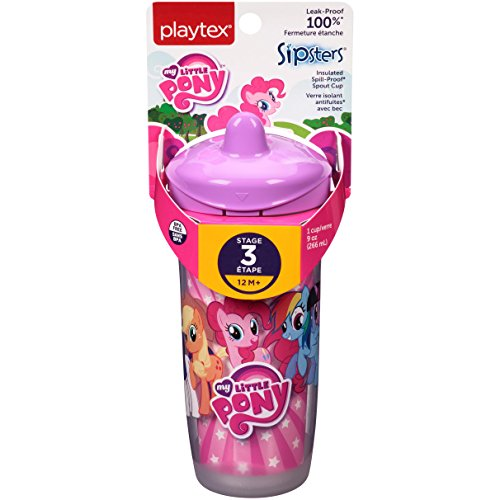 Playtex Sipsters My Little Pony Spout Sippy Cups - 9 Ounce